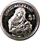 1 Dollar (Mary and Child Jesus) – reverse