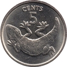 5 Cents (non-magnetic) – reverse