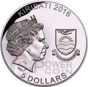 5 Dollars (Werewolf) – obverse