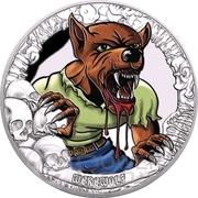 5 Dollars (Werewolf) – reverse