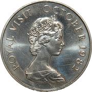 5 Dollars (Royal Visit) – reverse