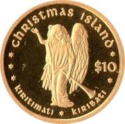10 Dollars (Christmas Island) – reverse