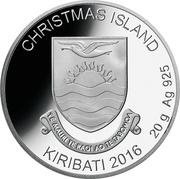 1 Dollar (Christmas Island - Rudolph) – obverse