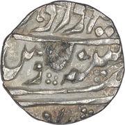 ¼ Rupee ( Edward VII / Madan Singh (Regal Style)) – obverse