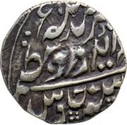 ½ Rupee (Edward VII / Madan Singh (Regal Style)) – obverse