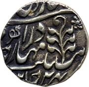 ½ Rupee (Edward VII / Madan Singh (Regal Style)) – reverse