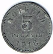 5 Pfennig - Bad Kissingen – reverse
