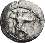 Siglos - Azbaal – obverse
