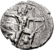 1/3 Siglos - Baalmelek I – obverse