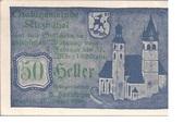 50 Heller (Kitzbühel) -  obverse