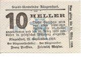 10 Heller (Klagenfurt) -  obverse