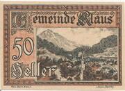 50 Heller (Klaus) – obverse