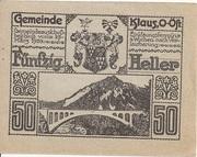 50 Heller (Klaus) – reverse