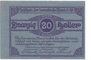 20 Heller (Klaus) – obverse
