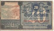 20 Heller (Klausen-Leopoldsdorf) – obverse
