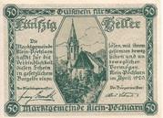 50 Heller (Klein-Pöchlarn) -  obverse