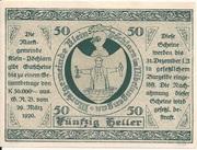 50 Heller (Klein-Pöchlarn) -  reverse