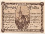 20 Heller (Klein-Pöchlarn) -  obverse