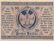 10 Heller (Klein-Pöchlarn) -  reverse