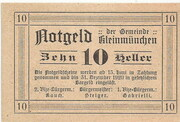 10 Heller (Kleinmünchen) -  reverse