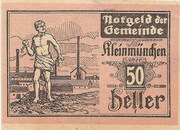 50 Heller (Kleinmünchen) -  obverse