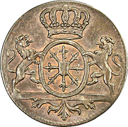 1 Duit - Friedrich II – obverse