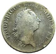 60 Stüber - Friedrich II. – obverse