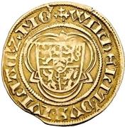 1 Goldgulden - Johann II. (Postulatsgoldgulden) – obverse