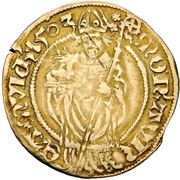 1 Goldgulden - Johann II. (Postulatsgoldgulden) – reverse