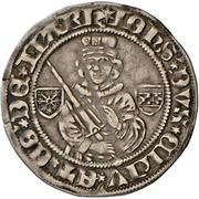 1 Blanken - Johann I. – obverse