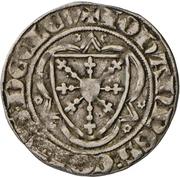 1 Groschen - Johann I. (Wappentournose) – obverse