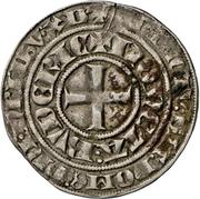 1 Groschen - Johann I. (Wappentournose) – reverse