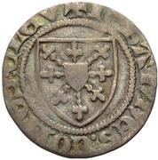 ⅓ Groschen - Johann I. (1/3 Wappenturnose) – obverse