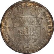 2/3 Thaler - Friedrich III – reverse