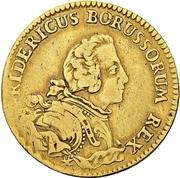 1 Friedrichs d'or - Friedrich II. – obverse