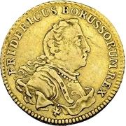 ½ Friedrichs d'or - Friedrich II. – obverse