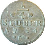 ¼ Stuber - Friedrich II – reverse