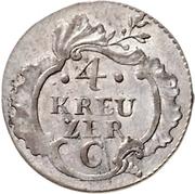 4 Kreuzer - Friedrich II. – reverse