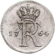 1 Stüber - Friedrich II. – obverse