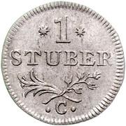 1 Stüber - Friedrich II. – reverse