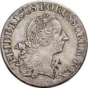 ⅙ Thaler - Friedrich II. – obverse