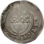 1 Pfennig - Adolph II. – reverse
