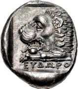 Tetradracmh - Eudoros – reverse