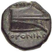 Bronze Æ10 - ...oroniko – reverse