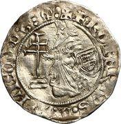 Gros - Robert de Juilly (1374-1376) – obverse