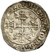 Gros - Robert de Juilly (1374-1376) – reverse
