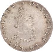 9 Grote - Wilhelm Gustav Friedrich – reverse
