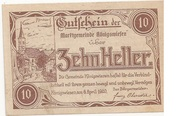 10 Heller (Königswiesen) -  obverse
