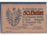 50 Heller (Kössen in Tirol) -  obverse