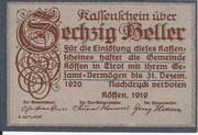 60 Heller (Kössen in Tirol) -  obverse